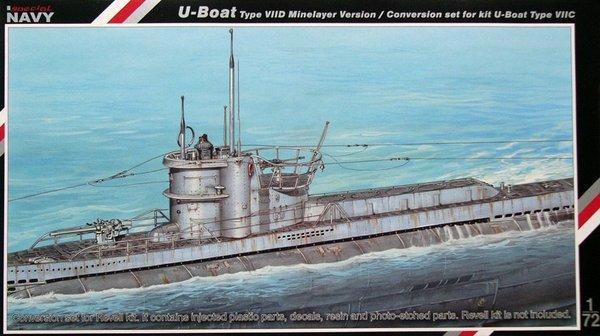 German U-Boat Type VIID Minelayer Version conversion set ...