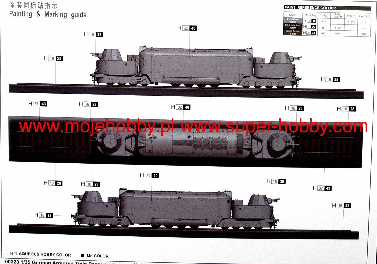 German armored train panzertriebwagen nr16 trumpeter 00223 2tru002231g geenschuldenfo Image collections