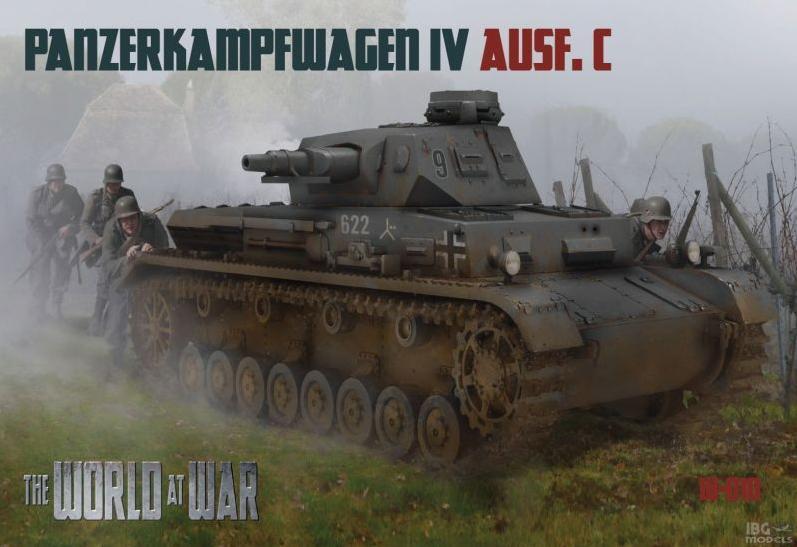 1//76 IBG The World at War W-010 Panzerkampfwagen IV Ausf C Pz.Kpfw. IV Ausf. C