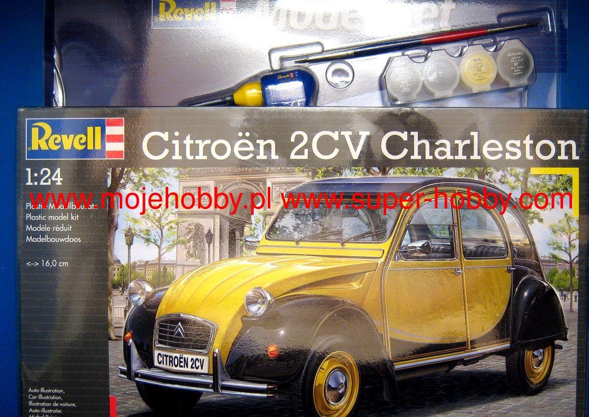 Model Set Citroen 2CV CHARLESTON