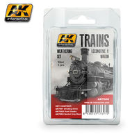 AK7000 Trains locomotive & wagon - Weathering Set