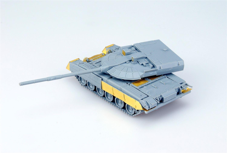 Russian T 80um2 Black Eagle Main Battle Tank Model