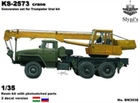 KS-2573 autocrane conv. for Trumpeter Ural kit - Image 1