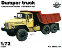 Dump truck conversion set for ICM Ural kit - Image 1