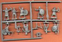 V-213 Hät 8100 Late Roman Medium Infantry Figuren Modellbau 1//72