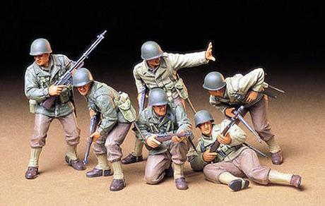 US Army Assault Infantry Tamiya 35192