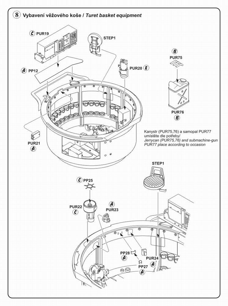 sherman tank interior diagram