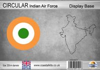 Circular Display Base Indian Air Force 200mm