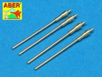 Set of 4 German barrels for aircraft 20mm machine guns MG 151/20