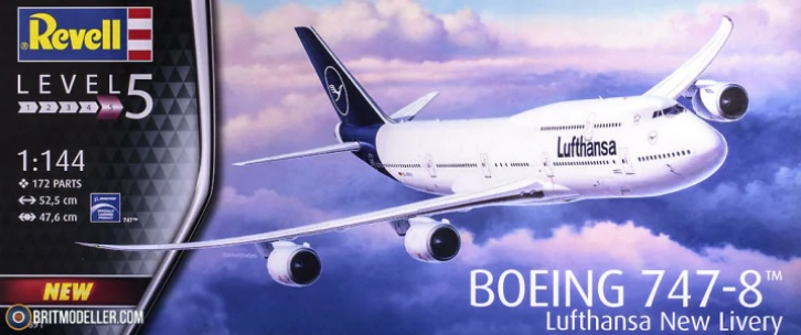 Boeing 747-8I 'Lufthansa' New Livery