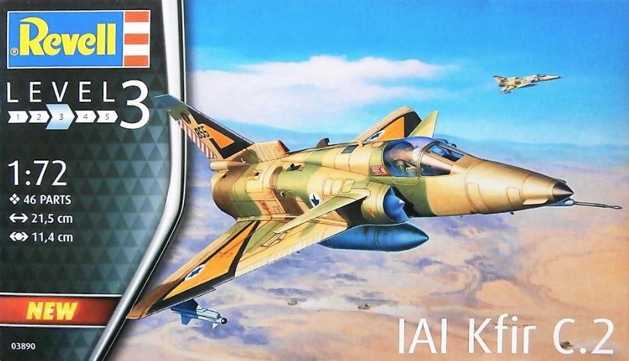 Revell 1//72 IAI Kfir C-2 # 03890