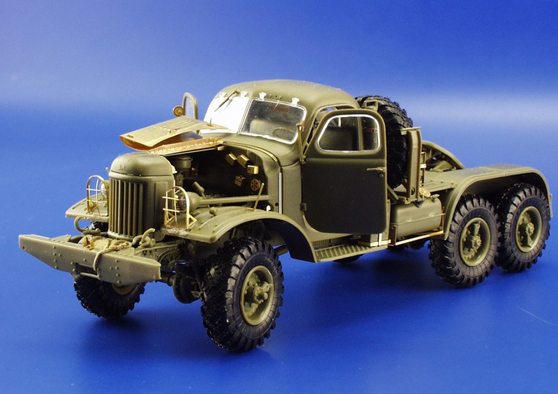 SA-2 MISSILE / ZiL-157 Truck TRUMPETER
