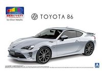 Toyota ZN6 Toyota 86 2016 (Ice Silver Metallic) Pre-painted - Image 1
