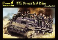 WWII German Tank Riders (Camouflage Suit)