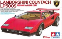 Lamborghini Countach LP500S Red Body w/Clear Coat