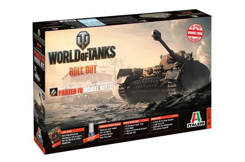 Panzer IV Model Kit - World of Tanks - Image 1