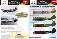 Bristol Blenheim Mk I - Blenheims in the RAF service - Image 1