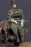 German Motorcycle Driver - Image 1