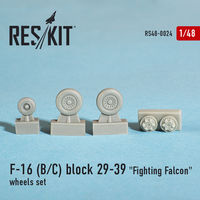 "General Dynamics F-16 (B/C) block 29-39 ""Fighting Falcon"" wheels set - Image 1"
