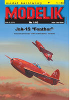JAK-15 FEATHER RUSSIAN JET FIGHTER FROM 1946