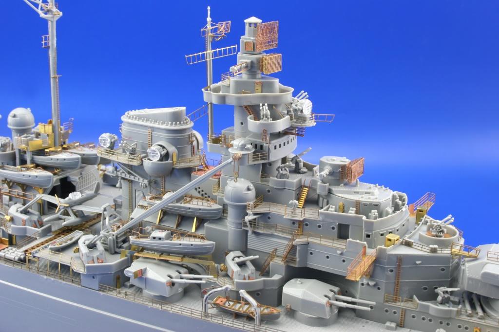 eduard 53043 1//350 Ship Tirpitz for Revell