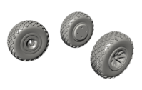 P-40 Wheels - Diamond and Hole Tread for Special Hobby