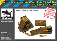 Panzer IV ammo crate