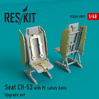 Seat CH-53, MH-53 with PE safety belts