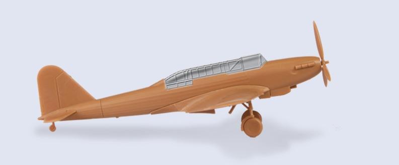 British Light Bomber Fairey Battle 1:144 Zvezda  6218