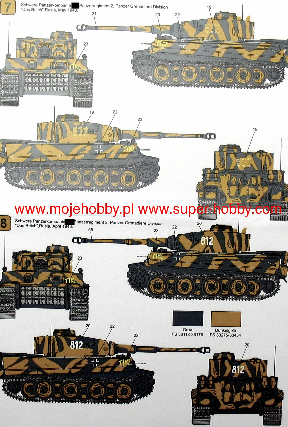 Techmod 1//35 Pz.Kpfw.VI Tiger Ausf.e Early Production # 35008