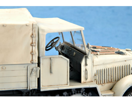 Trumpeter 01507 WWII German Sd.Kfz.7 Mittlere Zugkraftwagen8t Late Version 1:35