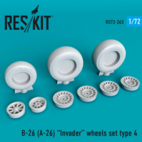 B-26 (A-26)  Invader type 4 wheels set - Image 1
