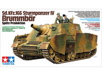 Sd.Kfz.166 Sturmpanzer IV Brummbar Late Production