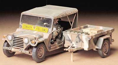 M151A2 w/Cargo trailer Tamiya 35130
