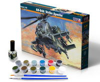 "AH-64A ""Strike Apache"" - Model Set"