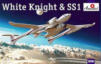 Burt Rutan White Knight and SS-1 (Space Ship One) Sub-Orbital Spaceplane