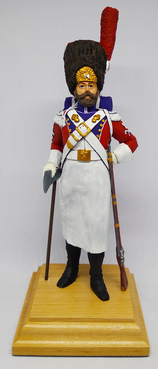 French (Swiss) Sapper. Imperial Old Guard - Image 1