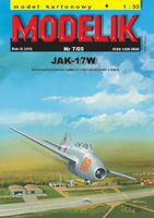 Russian trening-fighter plane JAK-17W Magnet