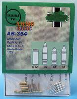 kwk 37 7,5 cm pz.kpfw // PANZER III // IV ammo # 48p02 1//48 RB stuk 37 // stummel