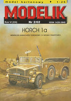 HORCH 1a GERMAN PASSENGER-TERRAIN CAR FROM W.W. 2ND