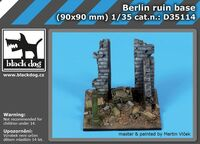 Berlin ruin base (90x90 mm) - Image 1