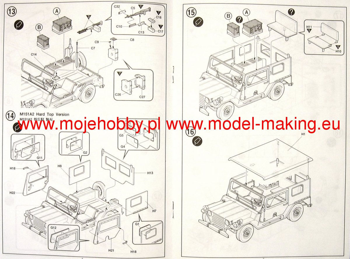 M151a2 Diagramsa Wire Diagrams M151a1 Wiring Diagram Hard Top With Trailer Academy 13012 37