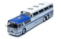 Greyhound Scenicruiser 1956 (blue/silver/white)