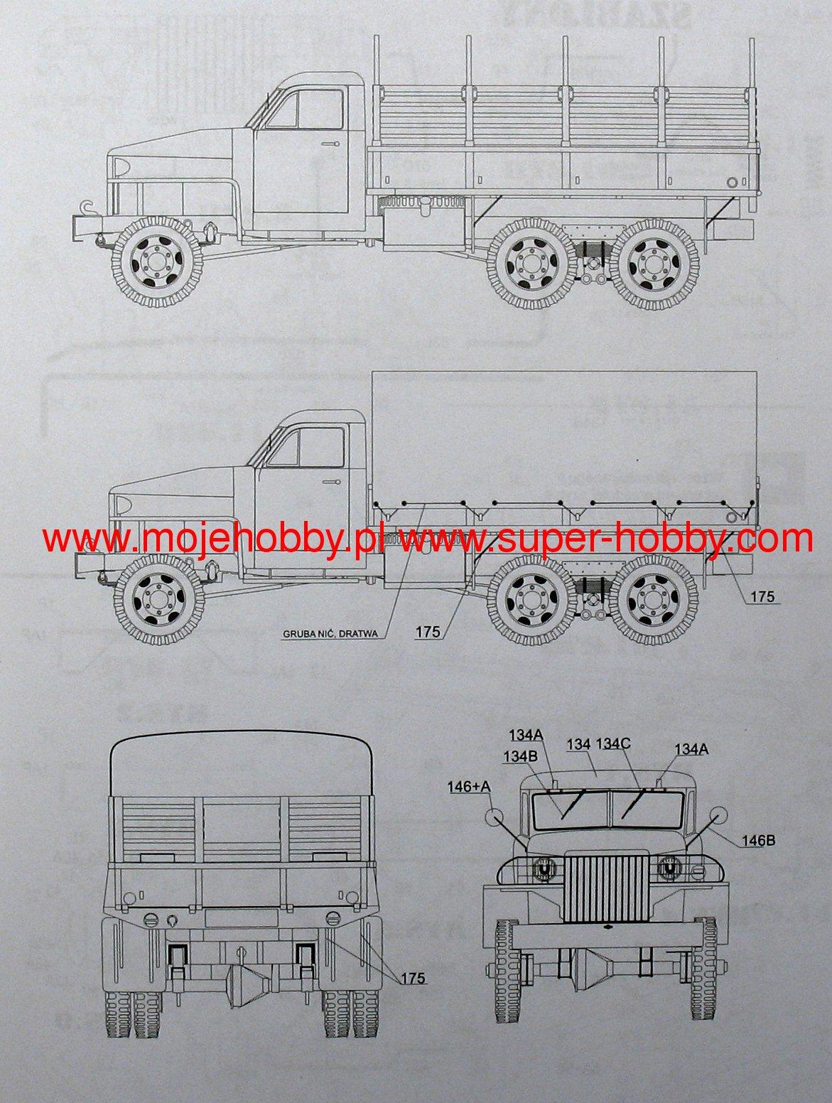 Us 6 Studebaker Gpm Wrgi Detale Komplet 0372k Engine Diagrams 2 Gpm0372k 8