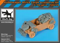 Kübelwagen Africa Corps accessories set for Tamiya - Image 1