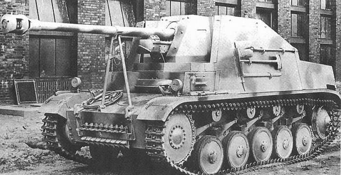 german tank destroyer auf sfl ii marder ii ace 72271. Black Bedroom Furniture Sets. Home Design Ideas