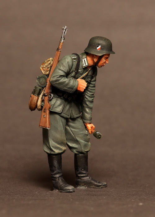 SOGA Miniatures 1//35 Briefing Before Attack 6 figures