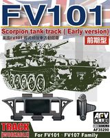 FV101 Scrorpion tank track (early version) for FV101 - FV107 Family - Image 1