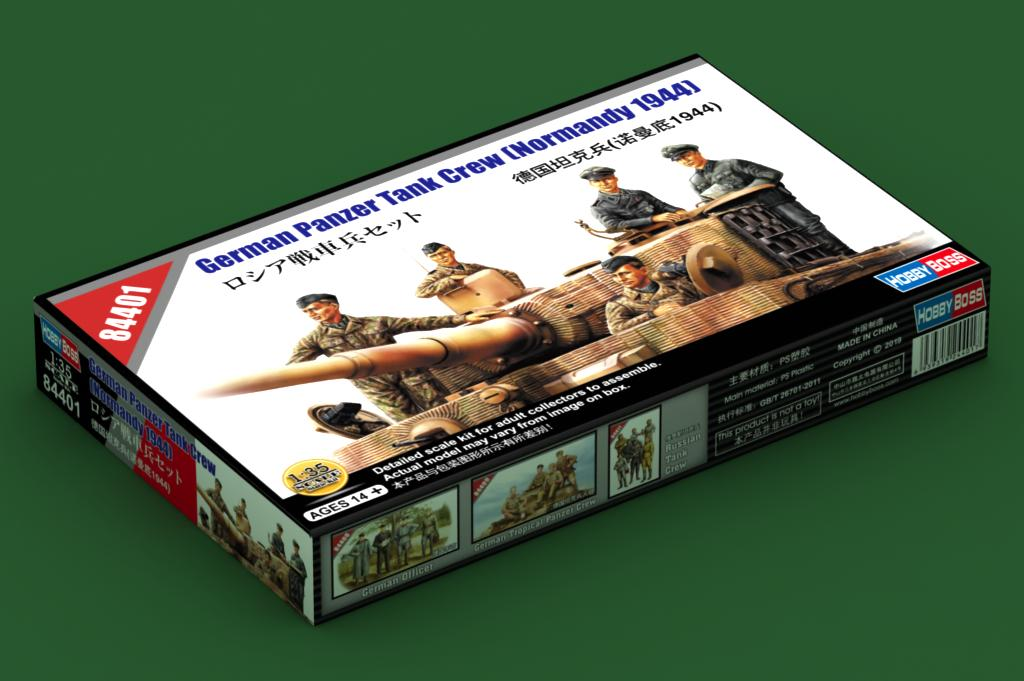 Hobby Boss 84401 - 1:35 German Panzer Tank Crew Normandy 1944 WWII