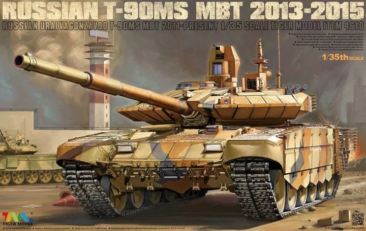 0011f67c4b0b Russian T-90MS MBT 2013-2015 Tiger Model TG-4610